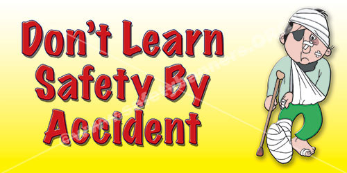 Learn Safety workplace safety banner - 1257