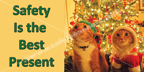 Safety Is The Best Present Safety Banner Item 1384