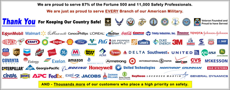 Fortune 500 Safety Banners Users, Safety Banners .Org