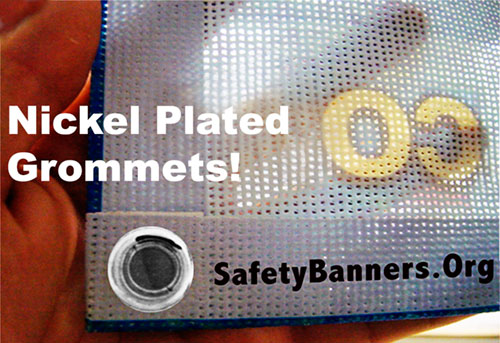 Mesh Fence Safety Banner Material