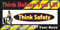 Safety Banners Product Number 1066