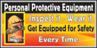 Safety Banners Product Number 1063
