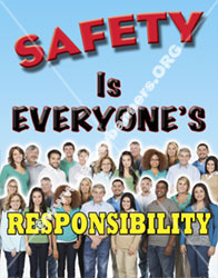 safety poster for industry 1163 vL