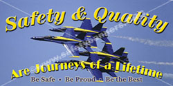 1155 Safety Banners Images