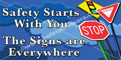 1260 Safety Banners Images