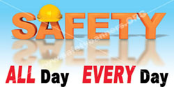 1336 Safety Banner All Day safety banners images