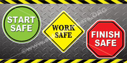 1351 Safety Banners Images