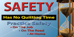 1353 Safety Banners Images