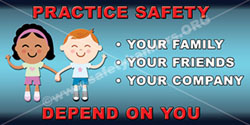 1354 Safety Banners Images