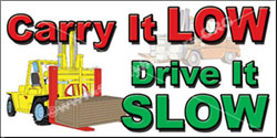 Forklift Safety Banner 1024