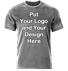 Your Design Grey t shirt