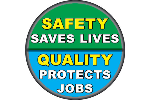 quality and safety floor decal sticker item mumber 6700