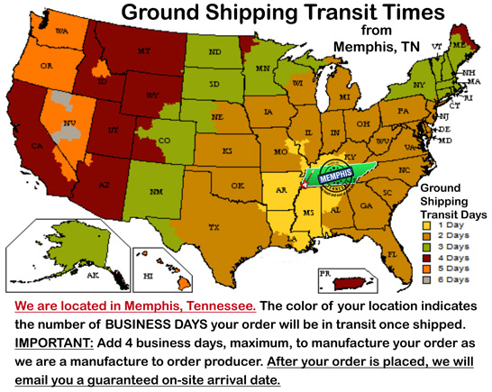 Groundshipping Transittimes