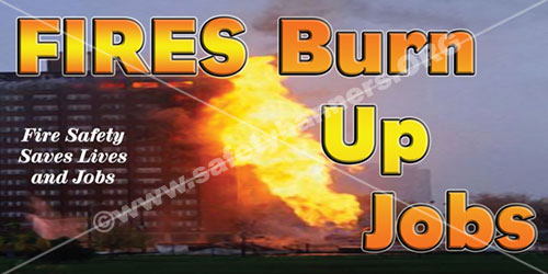 Fires burn up jobs