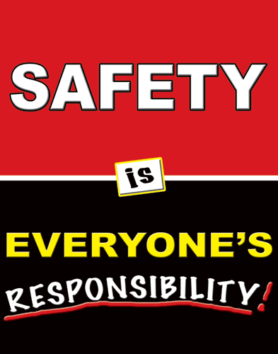 Safety Poster 1131 Everyones Responsible