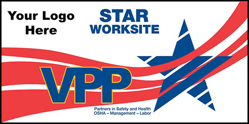 VPP star site safety banners 5003