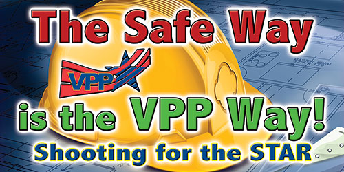 VPP safety banners 5023