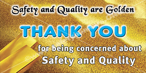 Quality Safety Banner 1296